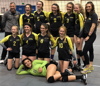 Girl's Volleyball in Boulder